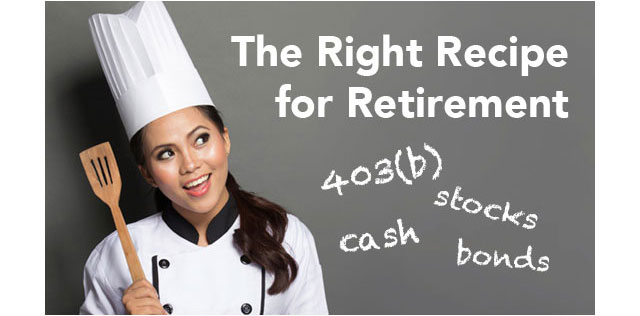The Right Recipe For Retirement: Seminars, one-on-one sessions, workshops and much more