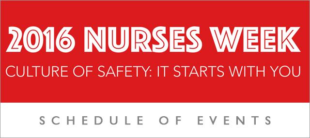 Let's celebrate Nurses Week 2016