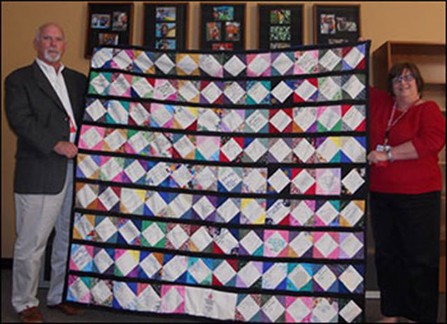 Beautifully designed quilt honors the nurses of Texas Children's Health Plan