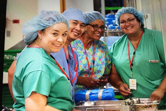 Main OR staff bring skills to Guatemala medical mission
