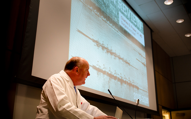 Teamwork highlighted during annual Department of Surgery review