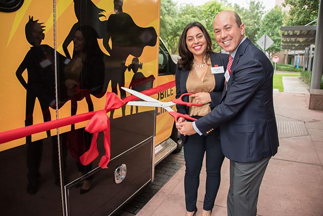 CARESQUAD joins the Texas Children's Mobile Clinic Program