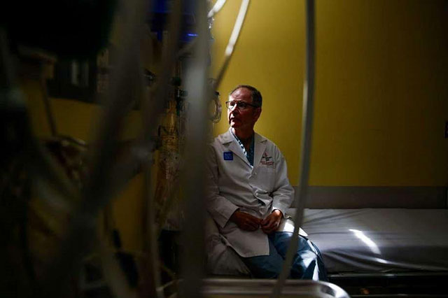 A pediatric surgeon grows frustrated after decades of sewing up kids