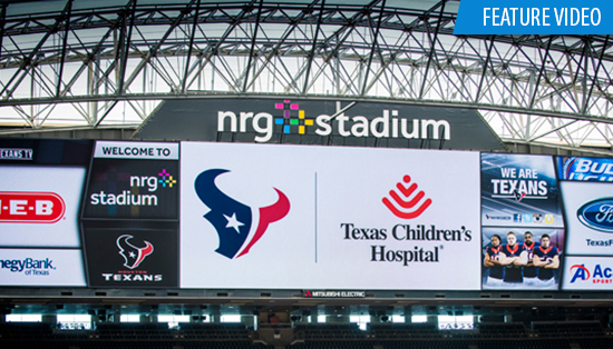 Flash back to a year of partnership with the Houston Texans