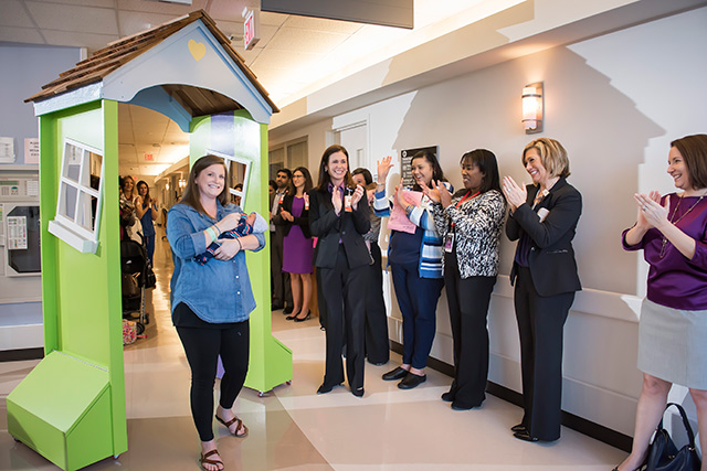 Texas Children's celebrates World Prematurity Day, unveils symbolic homecoming door for NICU families