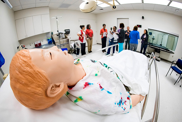 Simulations test readiness of new Outpatient Facility in The Woodlands