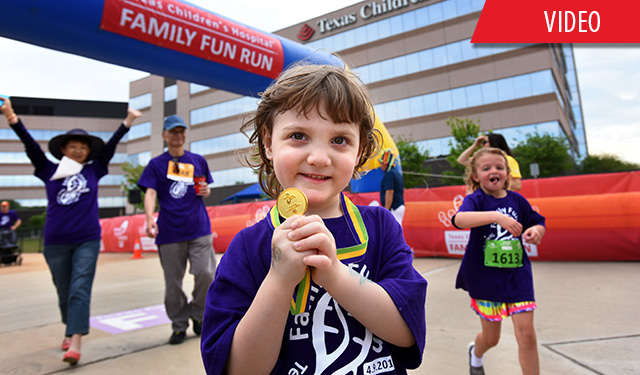 Register now: Texas Children's to host inaugural family fun run event in The Woodlands