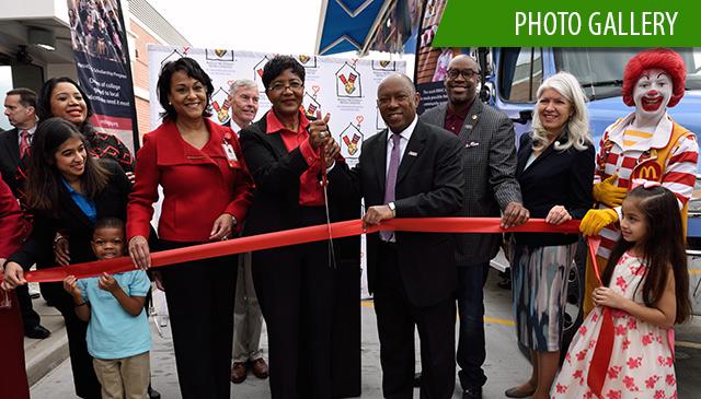 Ronald McDonald House Charities, Texas Children's unveil Ronald McDonald Care Mobile®