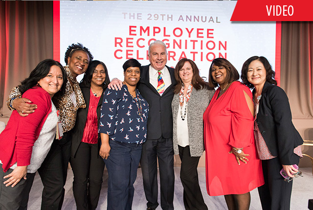 Employee recognition ceremony celebrates long-time honorees, award recipients