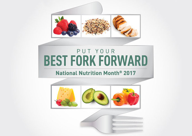 Learn how to put your best fork forward at various events in March