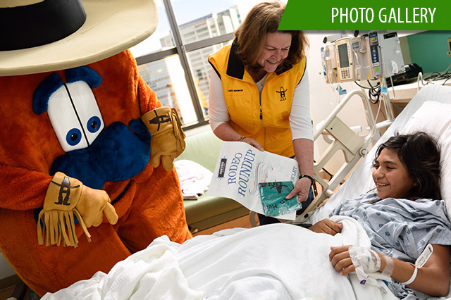 Howdy brings a taste of the Houston Livestock Show and Rodeo to Texas Children's