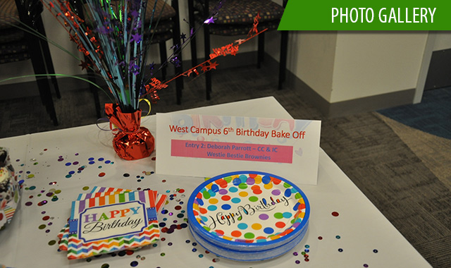 West Campus celebrates 6th birthday