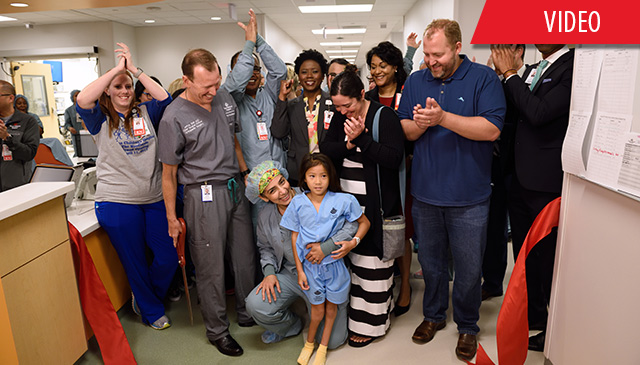 Opening day at Texas Children's Hospital The Woodlands full of excitement