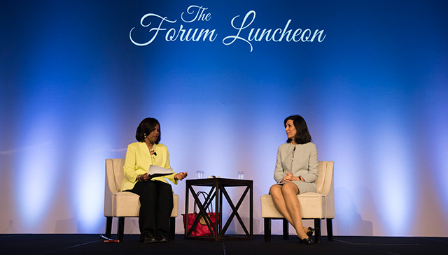 Forum Luncheon spotlights NRI advancements in neuroscience research