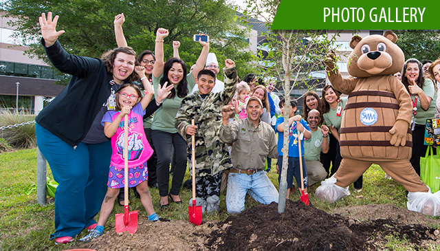Texas Children's employees, patient families celebrate Earth Day