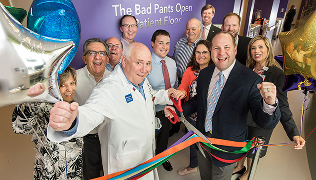 Bad Pants Open donates $1 million to NICU at Texas Children's The Woodlands