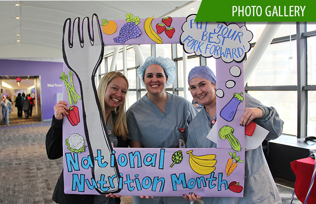 National Nutrition Month activities inspire employees to change eating habits