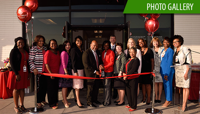Celebration held for opening of Palm Center primary care practices