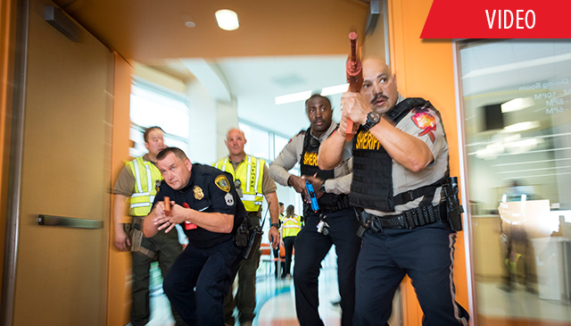 Active shooter and mass casualty incident exercises at The Woodlands campus