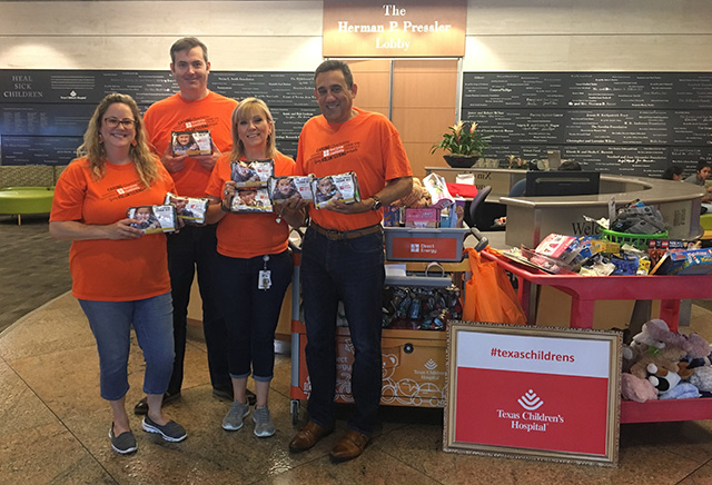 Direct Energy donates toiletry bags to patient families