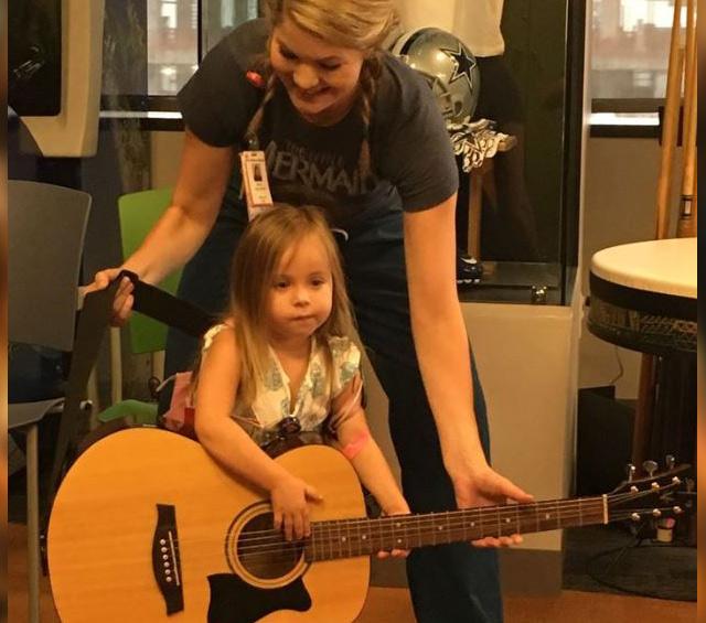 LeBlancs establish fund in daughter's memory to support Child Life, Nursing scholarship