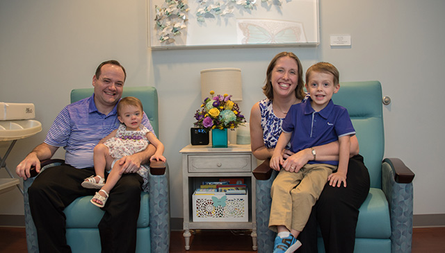 Newborn Center dedicates The Butterfly Room to support grieving NICU families