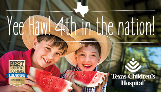 US News: 8 Texas Children's specialties ranked in top 10, Heart Center best in nation
