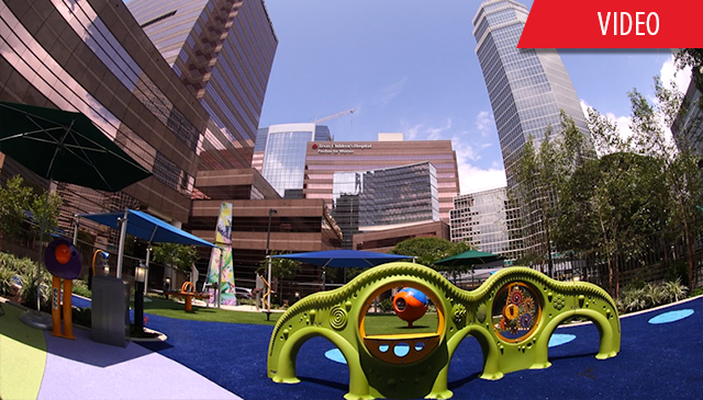 Abercrombie Play Garden offers outdoor retreat for patients,  families