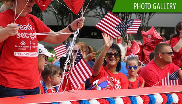 Texas Children's Hospital The Woodlands wins awards for parade