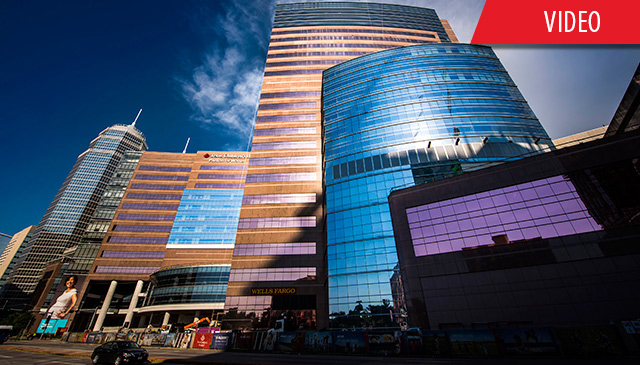 Significant progress has been made inside Texas Children's Legacy Tower