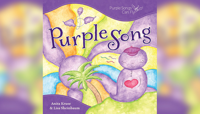 Book published benefitting Purple Songs Can Fly