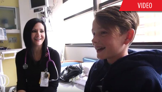 Caught You Caring: Amanda Riddle's compassion shines through for her patients
