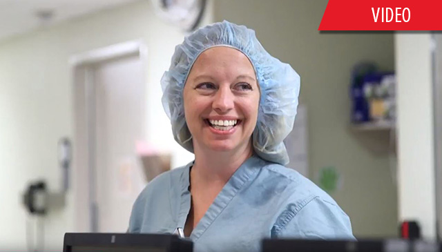 Caught You Caring: Joyce Enochs sets patient experience bar high for Perioperative Services