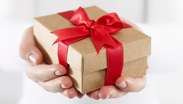 Guidelines to giving, receiving gifts at work