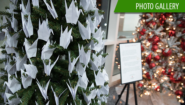 Tree of Hope in Wallace Tower offers support from donors