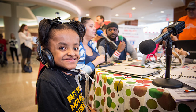 Donate today: Make a gift to the 14th Annual Texas Children's Radiothon