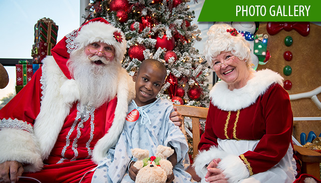 Holiday tree lighting events add splendor to Texas Children's Hospital