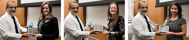 Reba Hill Awards presented to Neonatology staff