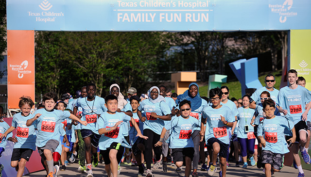 Register now for Texas Children's fun runs at West, The Woodlands