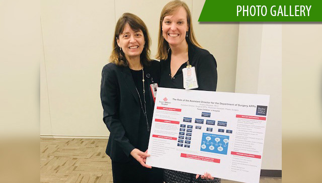 Department of Surgery holds first APP Mentorship Program Showcase