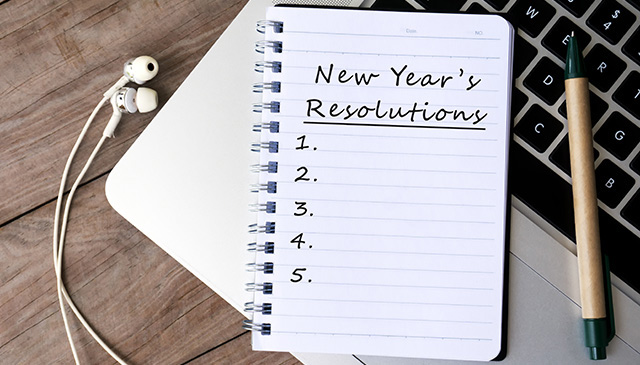 Happy New Year: What's your 2018 resolution?