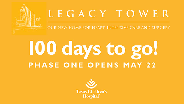 Less than 100 days until phase-one opening of Legacy Tower