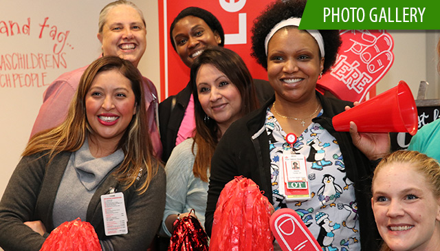 New employees, and leaders pep it up at West Campus rally