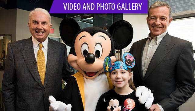 Walt Disney Co. launches $100M global initiative beginning at Texas Children's
