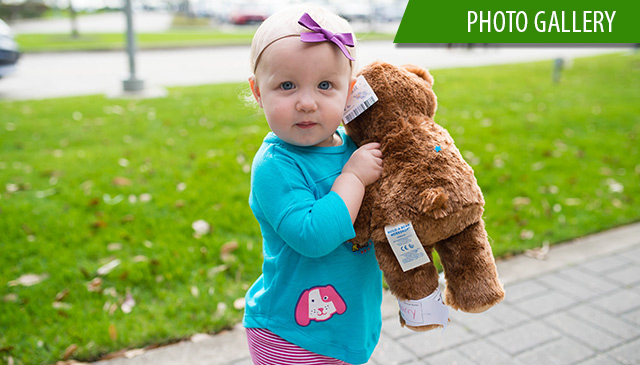 Teddy Bear clinic helps patients, families become more comfortable in medical setting