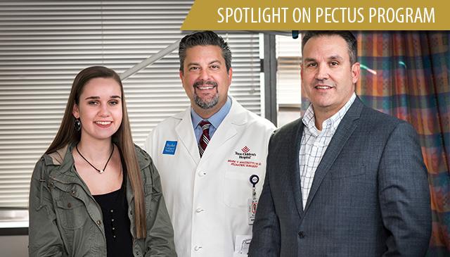Pectus Program treats assortment of chest wall abnormalities