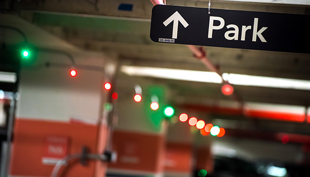 New enhancements help patients find parking, improves traffic flow
