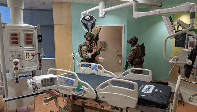 Active shooter exercise held at Legacy Tower, successfully executed