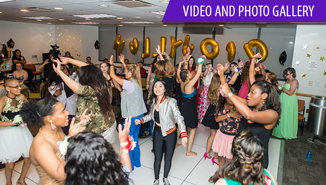 First Annual Hospital-Wide prom changes patients' lives