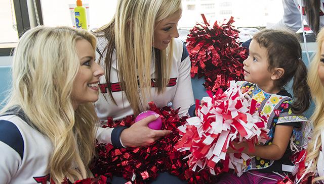 Registration opens for Texas Children's sponsored Houston Texans Jr. Cheerleaders